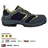 Cofra 63630–000.w46Talla 46s1P SRC Nizza Zapatos de Seguridad, Color Negro