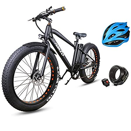 Nakto Fat Tire Electric Bike