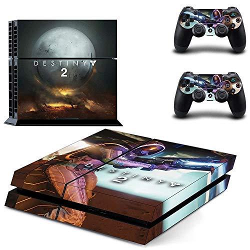 Destiny 2 Ps4 Aufkleber Playstation 4 Skin Ps4 Aufkleber Aufkleber Abdeckung für Playstation 4 Ps4 Konsole & Controller Skins Vinyl