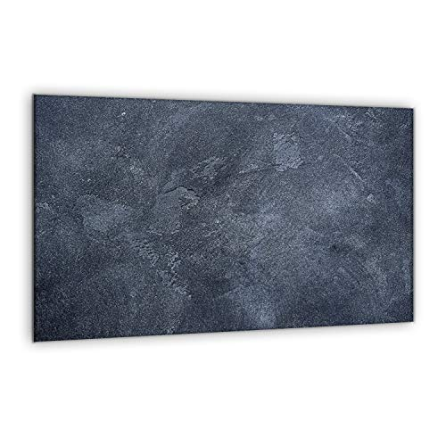 SemUp - Panneau de Protection en céramique pour Plaque à Induction électrique - 80 x 52 cm - Grande Planche à découper - Verre trempé - Grande Planche à découper - Découpe Murale de Cuisine