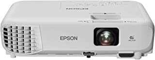 Epson EB-W06 3LCD, HD Ready, 3700 Lumens, 320 Inch Display, Built-in Speaker, WXGA Projector - White