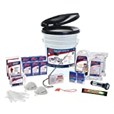QuakeKare 2 Person Deluxe Home Survival Kit