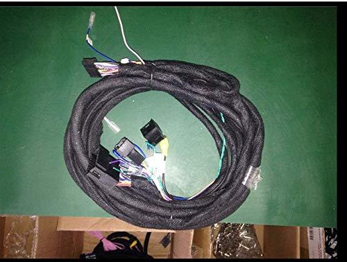 TOPNAVI Nouveau 5 mètres de Long câble de rallonge pour BMW Benz Audi Origianl Voiture avec amplificateur à Fibre Optique