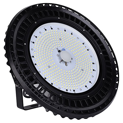 100W 150W 200W 250W UFO LED Iluminación, 12000-30000lm, impermeable, Super Brillante Iluminación Comercial Bahía Luces