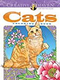 Creative Haven Cats Coloring Book (Adult Coloring)