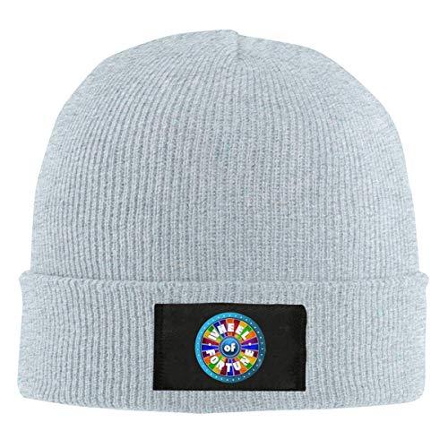 Yuanmeiju Retro-Glücksrad-Cool Beanie Caps Skull Cap Strickmütze Warm Winter...