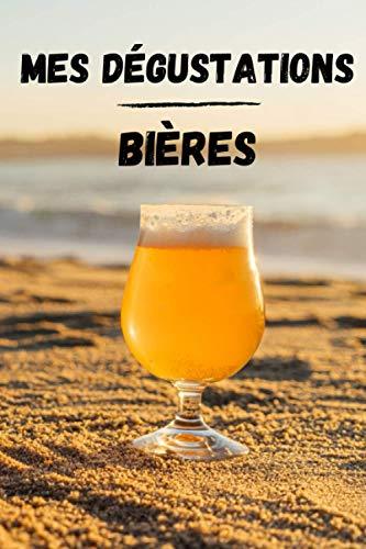 Carnet de dégustation Bières: Notez vos découvertes | Retenez vos boissons préférées