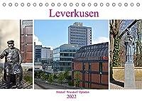Leverkusen Hitdorf Wiesdorf Opladen (Tischkalender 2022 DIN A5 quer): Leverkusen als Industrie- und Sportstadt, hat viel mehr zu bieten (Monatskalender, 14 Seiten )