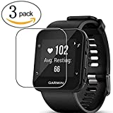 aczer-Y Compatible Replacement Band for Garmin Forerunner 35 Accessories Watchbands, 10 Color Replacement Watch Band with Stainless Buckle and Rubber Strap (3 Pack Screen Protector)