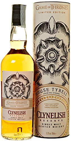 Game of Thrones Malts Clynelish Reserve - House Tyrell Whisky Single Malt - 700 ml