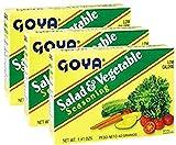 Goya Salad & Vegetable Seasoning 1.41 oz Pack of 3