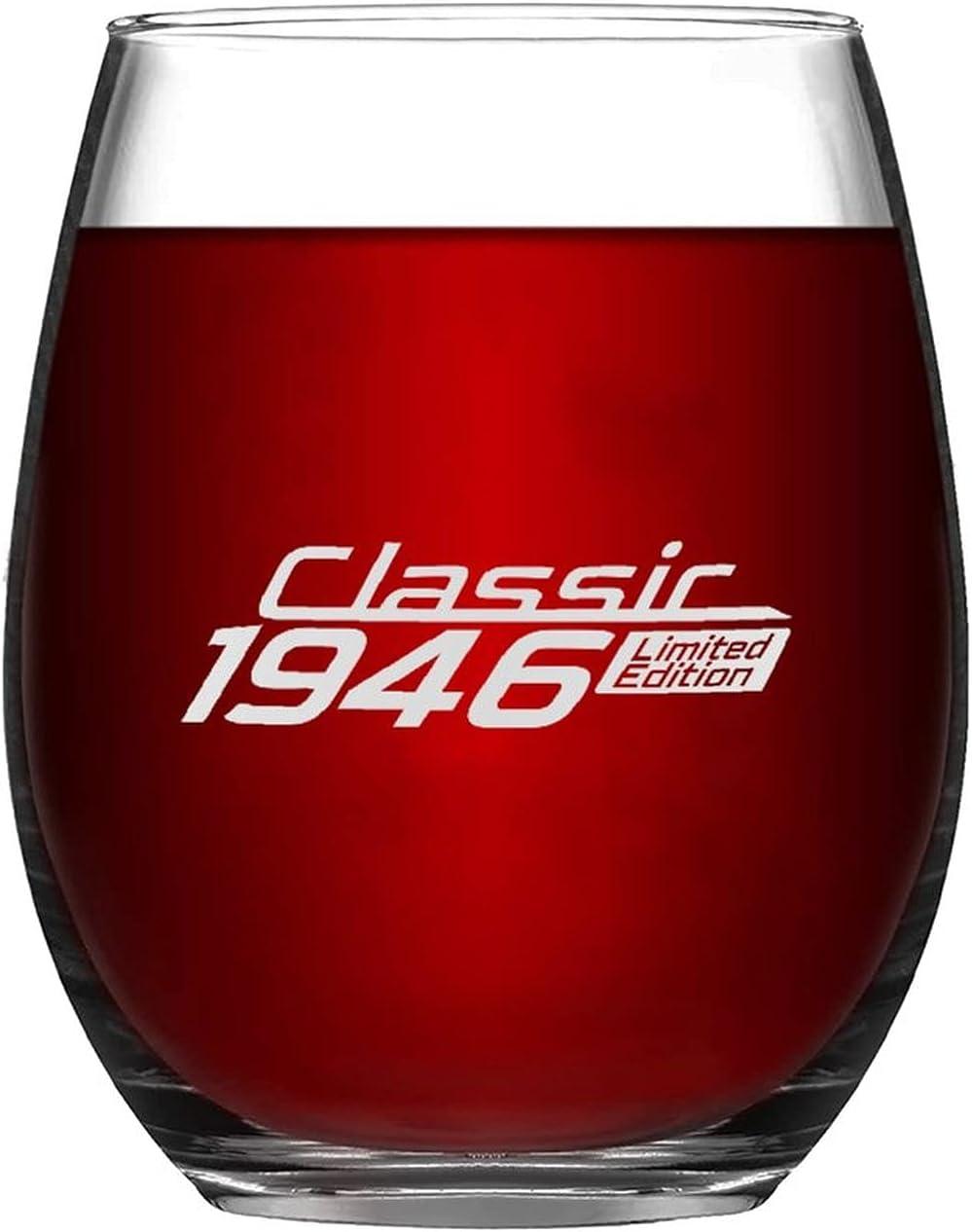 Classic Limited Edition Seasonal Wrap Introduction Popular standard 1946 Novelty Glass Mug Pres Evening Wine