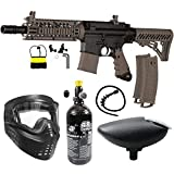 Maddog Tippmann TMC MAGFED Bronze HPA Paintball Gun Starter Package - Tan