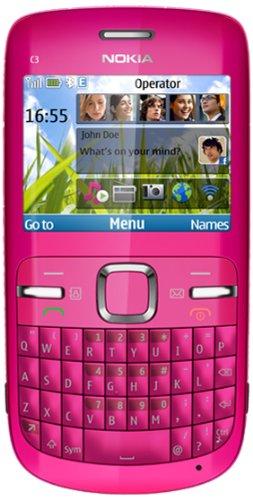 'Nokia C3–00Handy Schutzhülle, Quad Band, Display-2.4, Kamera mit 2MP