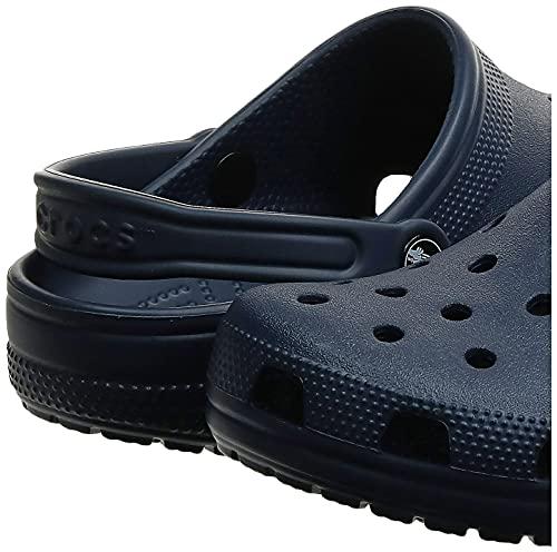 Crocs Classic Clog Unisex Adulta Zuecos, Azul (Navy 410), 43/44 EU