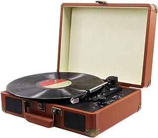 WHSS Lecteur de disque vinyle, gramophone, haut-parleur Bluetooth, lecteur de disque vinyle nostalgique, lecteur de musiqu...