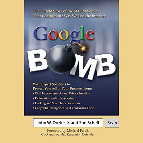 Google Bomb audiobook cover art