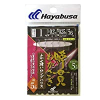 ハヤブサ(Hayabusa) 瞬貫わかさぎ ふかせ誘い 秋田キツネ5 C254 1-0.2