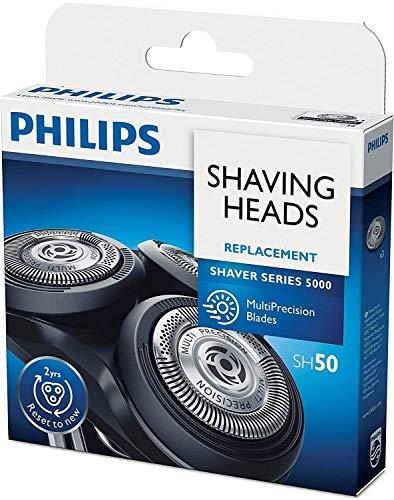 Cuchillas de repuesto SH50 para Phili-ps de afeitadora eléctrica serie 5000 cuchillas de repuesto, versión mejorada de cabezales de repuesto HQ8