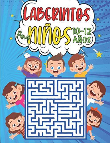 Laberintos Para Niños 10-12 Años: 100 Laberintos 3 niveles con Soluciones -...