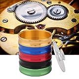Zouminyy Reloj Clean Cylinder, 5 capas de aleación de aluminio Reloj Clean Cylinder Cup Reloj de pulsera Limpieza de aceite Herramienta de lavado