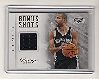 2013-14 Prestige Bonus Shots Materials #27 Tony Parker Team: San Antonio Spurs