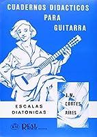 Cuadernos DidaCticos Para Guitarra: Escalas DiatoNicas