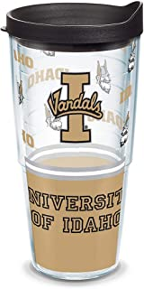 Tervis Idaho Vandals Tumbler with Wrap and Black Lid 24oz, Clear