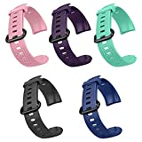 <span class='highlight'>Letsfit</span> ID152 Replacement Bands, Adjustable <span class='highlight'>Fitness</span> <span class='highlight'>Tracker</span> Straps for ID152 <span class='highlight'>activity</span> <span class='highlight'><span class='highlight'>tracker</span>s</span> <span class='highlight'>with</span> 5 Pack (Black, Blue, Green, Pink, Purple)