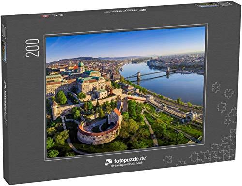 Puzzle 200 Teile Budapest - Klassische Puzzle mit edler Motiv-Schachtel, Fotopuzzle-Kollektion 'Ungarn'