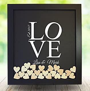 Best wooden heart decorations personalised Reviews
