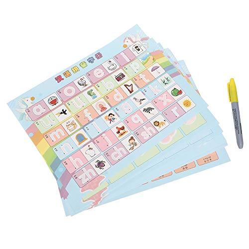 10 feuilles de papier de peinture, dessin de l'eau livre papier coloriage jouets livre de peinture enfants cadeau d'anniversaire