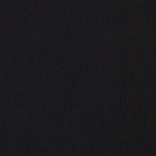 Kt KILOtela Tela de loneta Tintada - Decoración, tapizar, Cojines, Cortinas, colchas, Bolsos, manteles - Retal de 300 cm Largo x 280 cm Ancho | Negro 850 ─ 3 Metros