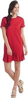 Hope Tshirt Dress Poppy, Red