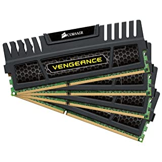 Corsair Vengeance 32GB (4x8GB) DDR3 1600 MHZ (PC3 12800) Desktop Memory 1.5V (B0086THGI6)   Amazon price tracker / tracking, Amazon price history charts, Amazon price watches, Amazon price drop alerts