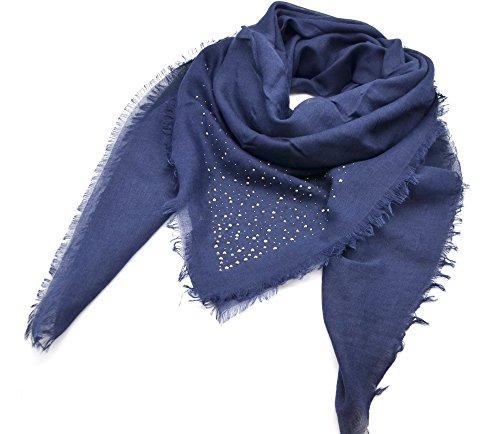 Oh My Shop PSV122 - Pañuelo cuadrado para otoño e invierno liso...
