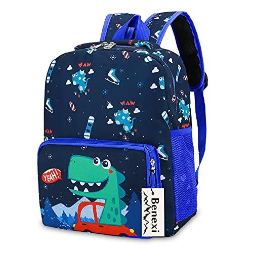 Mochila infantes Mochila Para niños , Mochilas pequeñas Mochilas escolares de dinosaurios de animales Bonita bolsa de bebé primaria Guardería Preescolar para niños de 2 a 5 años Niñas