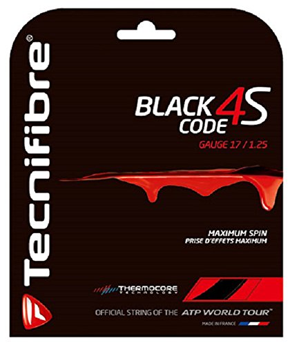 Tecnifibre Black Code 4S Tennis String Set