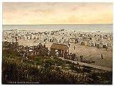 Photo Beach Borkum Schleswig Holstein A4 10x8 Poster Print