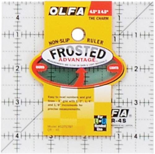 Olfa QR4S - Regla para Coser almazuelas (acrílico), Transparente
