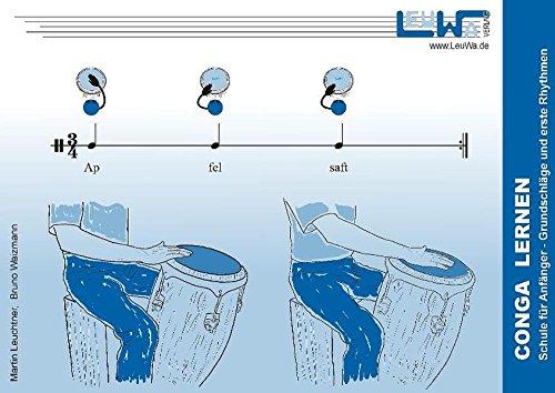 Conga lernen: Schule für Anfänger - Grundschläge und erste Rhythmen (Hefte für Percussionsinstrumente)