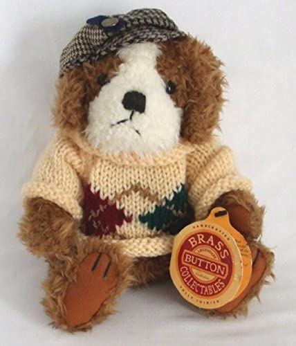 Brass Button Collectibles Augie Dog of Friendship 10 Plush 1997 by Pickford Bears