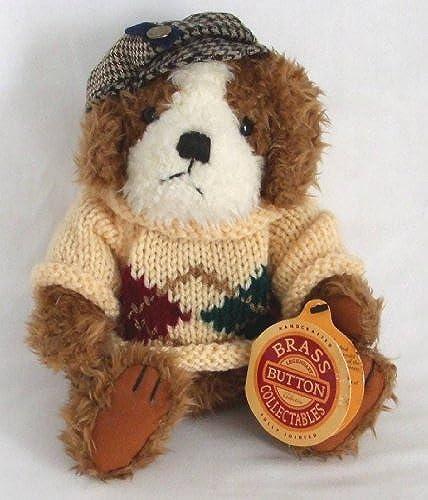 el mas de moda Brass Button Button Button Collectibles Augie Dog of Friendship 10 Plush 1997 by Pickford Bears  más vendido
