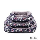Haustierbett Hundebetten für Große Hunde Wählen Sie aus Zwei Arten Winter Ist Warm und Sommer Ist kühl, es Ist Die Beste Wahl für Hundebett Long80Cmwi