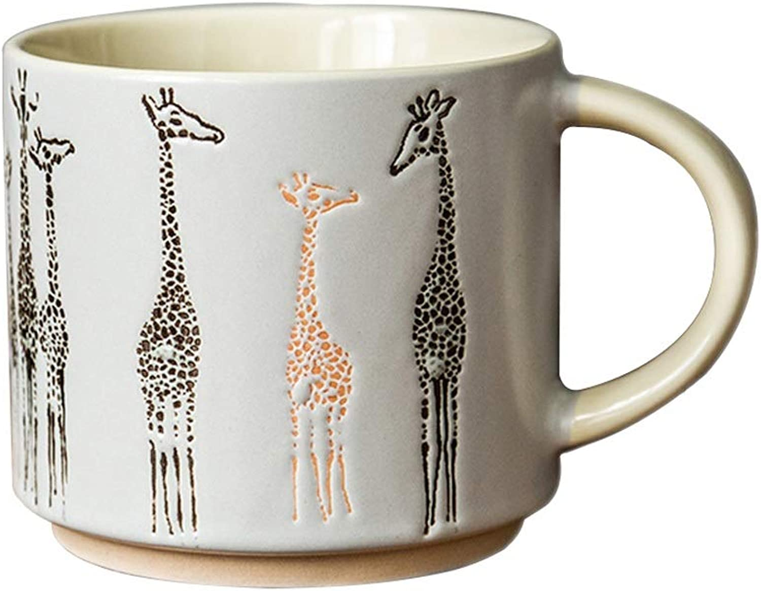 Creative Ceramic Cup Couple Drinking Cup Coffee Cup Giraffe Mug Couple Drinking Cup Milk Cup Office Water Glass