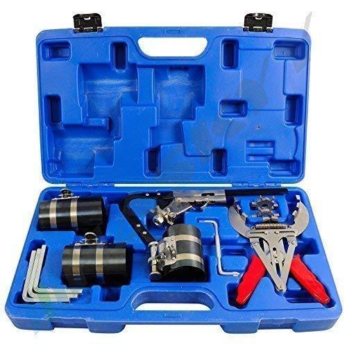 Profi Kolbenringspannband Werkzeuge Kolbenringzange Kolbenring-Spannband-Satz CKSW-15