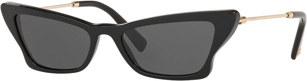 Valentino, occhiali da sole per donna, neri BUTTERFLY VA 4062