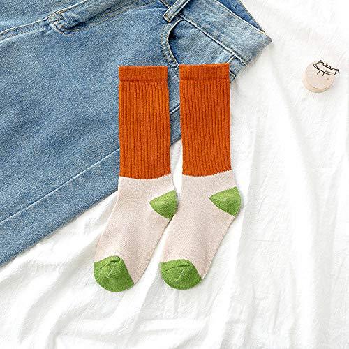 Ykun Kinder Socken, Zuckerwatte Farbe Herbst und Winter Kinder Gezeiten Socken, ausländische Kindermode Socken@A05_S