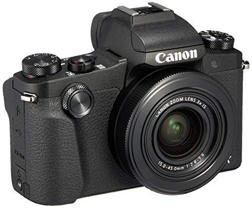 Canon コンパクトデジタルカメラ PowerShot G1 X Mark III ブラック APS-Cセンサー/F2.8レンズ/EVF内蔵 PSG1XMARKIII-A