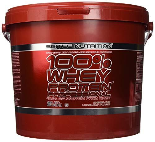 Scitec Nutrition 100{e5f3260c2b693d29daa19e6b0dd9954343be18416ab26298abf24a6056e80e16} Whey Protein Professional, 5kg Eimer , Schoko-Nuss